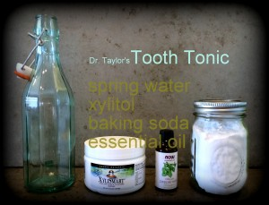 Natural DIY Mouthwash Ingredients